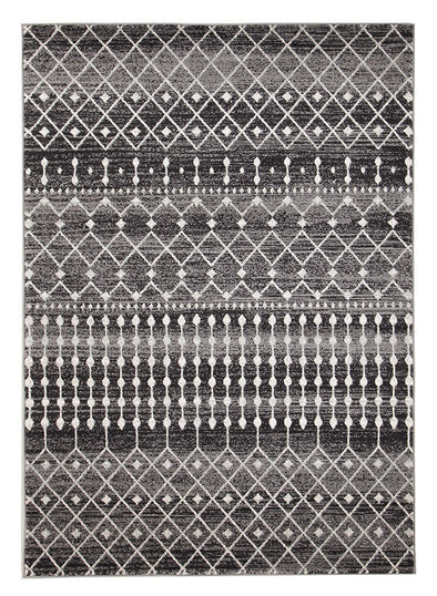 Simplicity Black Transitional Rug - Fantastic Rugs
