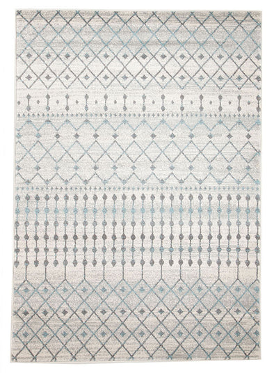 Slate White Transitional Rug - Fantastic Rugs