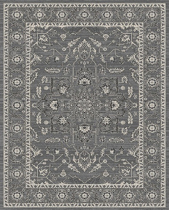Stone Grey Transitional Rug - Fantastic Rugs