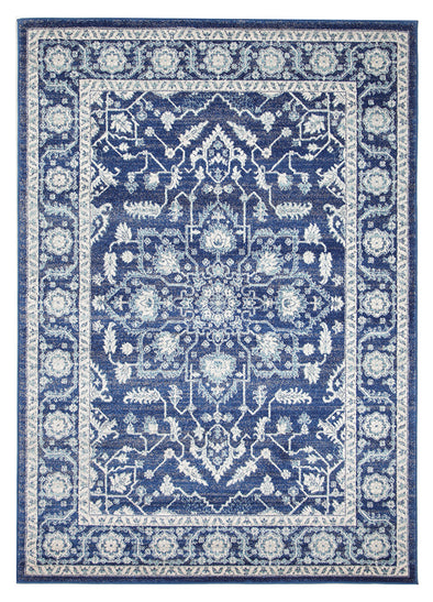 Release Navy Transitional Rug - Fantastic Rugs