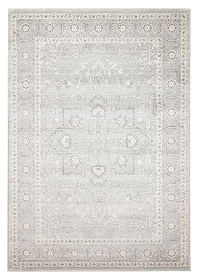 Silver Flower Transitional Rug - Fantastic Rugs
