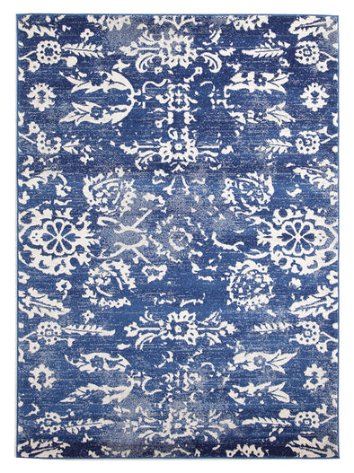 Donna Navy Transitional Rug - Fantastic Rugs