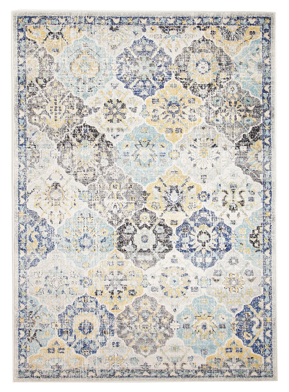 Poppy Multi Transitional Rug - Fantastic Rugs