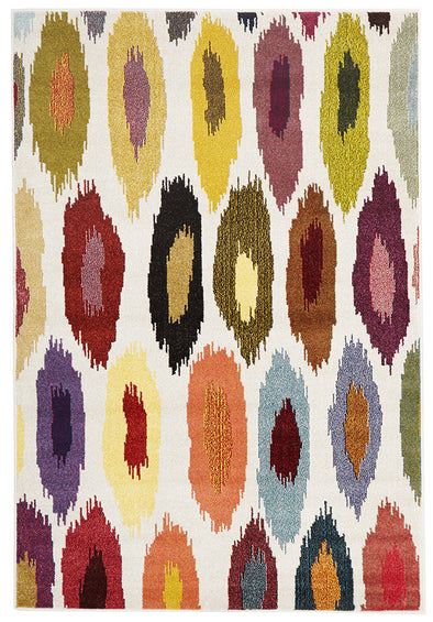 Alure Modern Multi Coloured Rug - Fantastic Rugs
