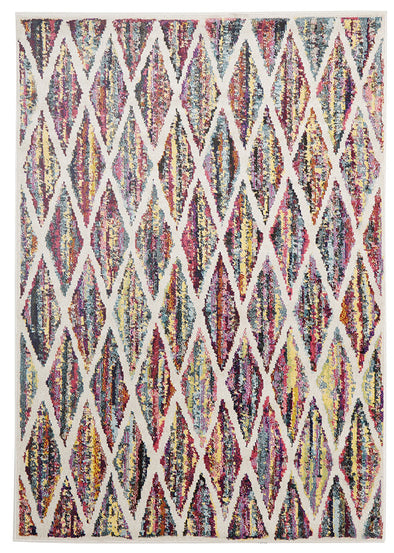 Dawson Modern Rug Multi Coloured - Fantastic Rugs