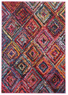 Dawson Modern Multi Coloured Rug - Fantastic Rugs