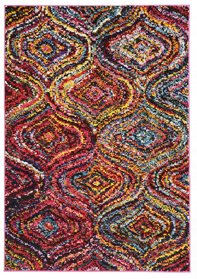 Chindi Modern Multi Coloured Rug - Fantastic Rugs