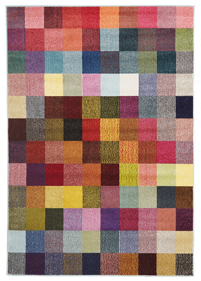 Revo Modern Multi Coloured Rug