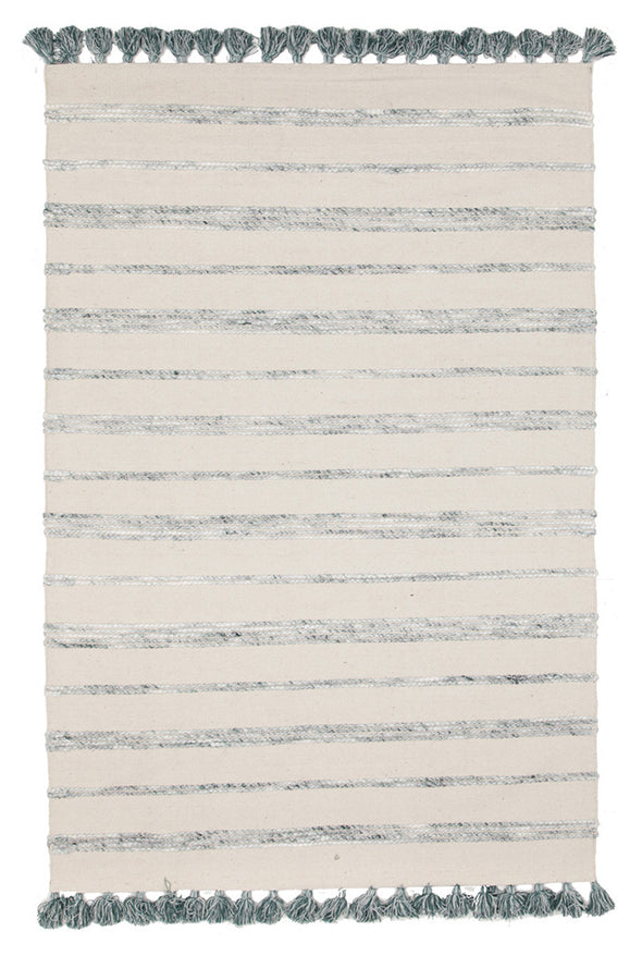 Coconut Cotton Wool Viscose Reversible White Rug - Fantastic Rugs