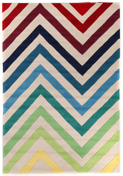 Chevron Multi Rug - Fantastic Rugs