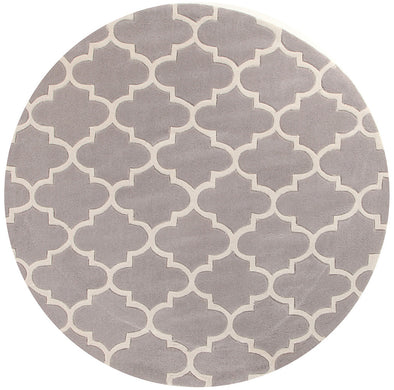 Lattice Grey Rug