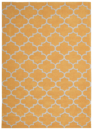Lattice Orange Rug - Fantastic Rugs