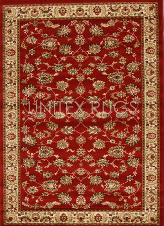 Traditional Floral Design Rug Red - Fantastic Rugs