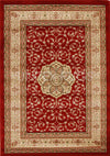 Medallion Classic Design Rug Red - Fantastic Rugs