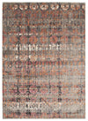 Fluid Eve Modern Rust Rug - Fantastic Rugs