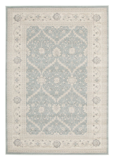 Chobi Design Rug Light Blue Bone - Fantastic Rugs