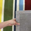 Primary Coloured Stripes Children's Rug - Fantastic Rugs