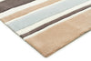 Taupe Coloured Stripes Children's Rug - Fantastic Rugs