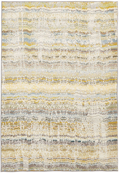 Stunning Monet Inspired Yellow Rug - Fantastic Rugs