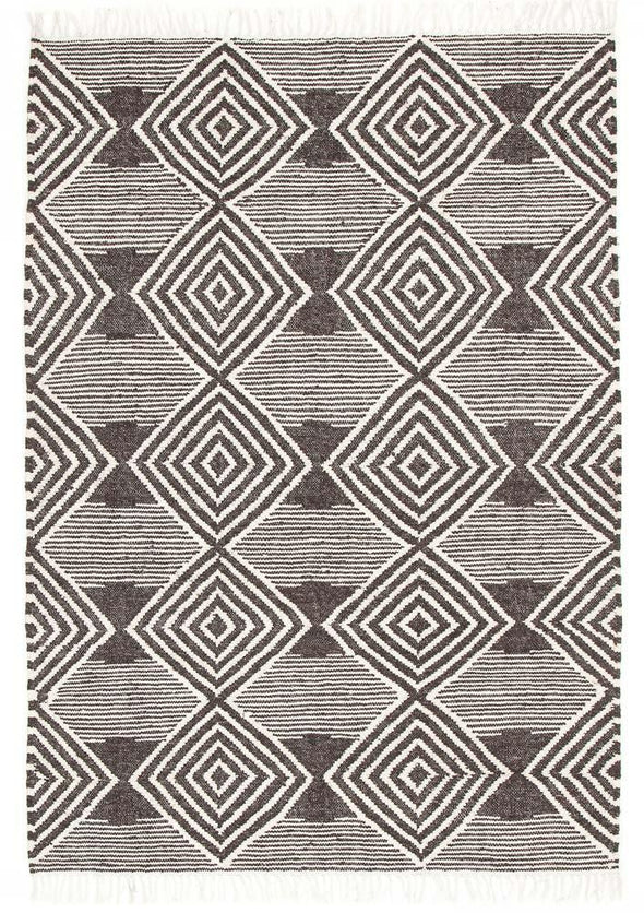 Rhythm Dance Charcoal Rug - Fantastic Rugs