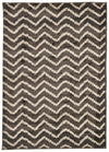 Moroccan Chevron Design Rug Grey - Fantastic Rugs