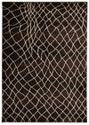 Moroccan Web Design Rug Chocolate - Fantastic Rugs