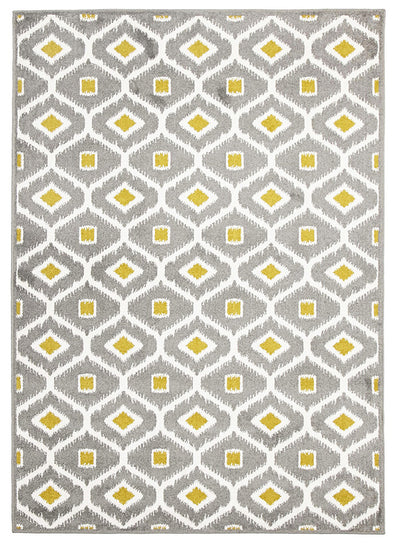 Indoor Outdoor Bianca Rug Grey Citrus - Fantastic Rugs