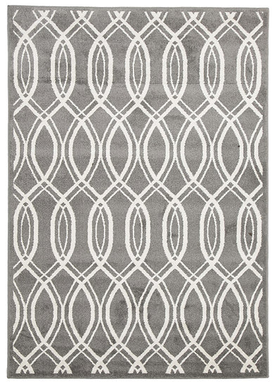 Indoor Outdoor Lucid Rug Grey - Fantastic Rugs