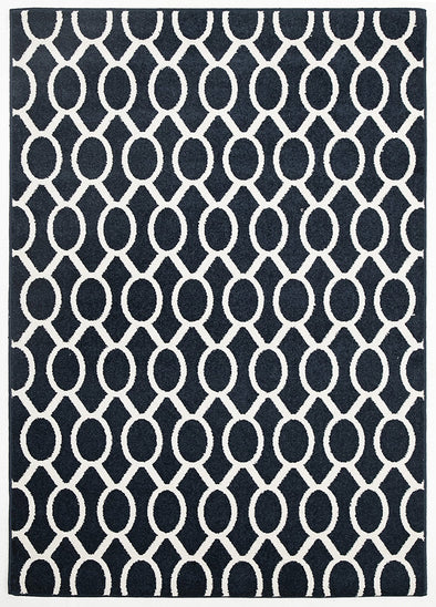 Indoor Outdoor Neo Rug Navy - Fantastic Rugs