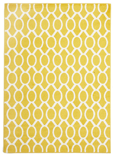 Indoor Outdoor Neo Rug Yellow - Fantastic Rugs