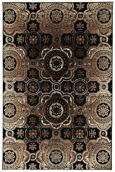 Dome Charcoal Rug - Fantastic Rugs