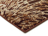 Splash Design Rug Brown - Fantastic Rugs