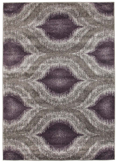 Lucid Dream Modern Rug Purple - Fantastic Rugs