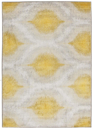 Lucid Dream Modern Rug Yellow - Fantastic Rugs