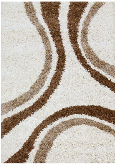 Stylish Curves Rug Ivory - Fantastic Rugs