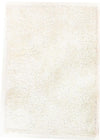Metallic Thick, Thin Shag Rug Crisp White - Fantastic Rugs