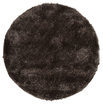 Plush Luxury Shag Rug Ash Grey Brown