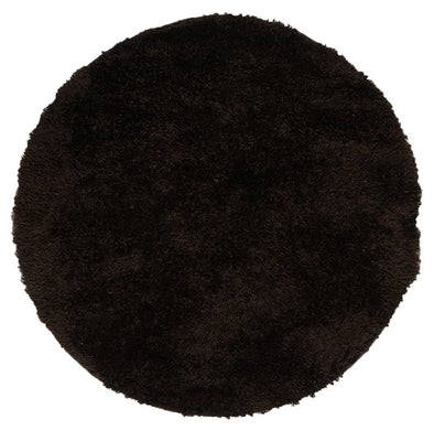 Plush Luxury Shag Rug Choc Colouring