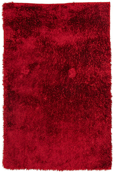 Plush Luxury Shag Rug Red - Fantastic Rugs