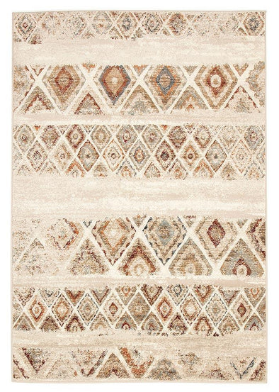Mayfair Contrast Rust Rug - Fantastic Rugs
