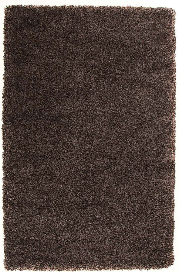 Ultra Thick Super Soft Shag Rug Brown Grey - Fantastic Rugs