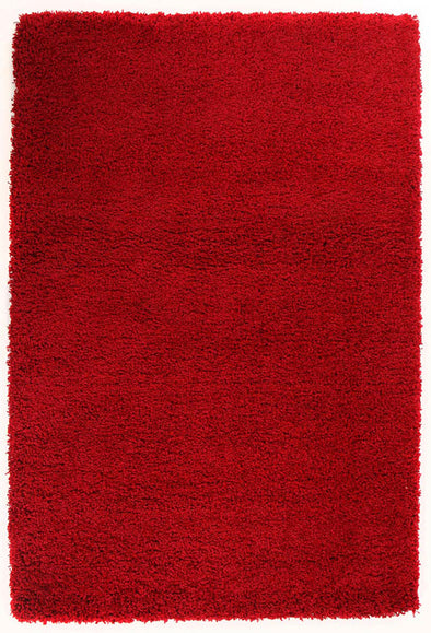 Ultra Thick Super Soft Shag Rug Red - Fantastic Rugs