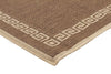 Indoor Outdoor Key Design Rug Brown - Fantastic Rugs