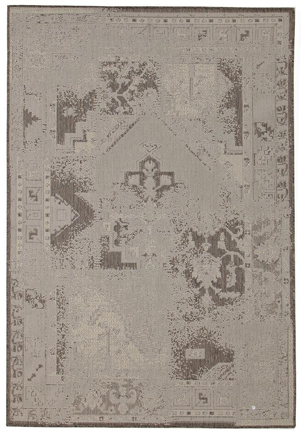 Dash Indoor Outdoor Modern White Rug - Fantastic Rugs