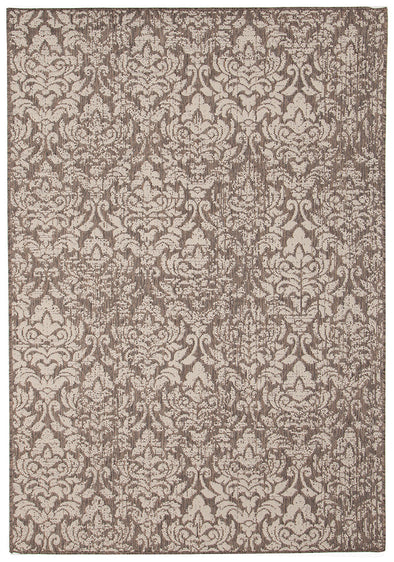Hedge Indoor Outdoor Modern Grey Rug