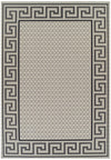 Indoor Outdoor Greek Key Design Rug Cream - Fantastic Rugs