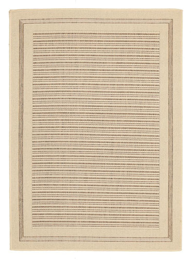 Sunset Horizon Indoor Outdoor Modern Beige Rug - Fantastic Rugs