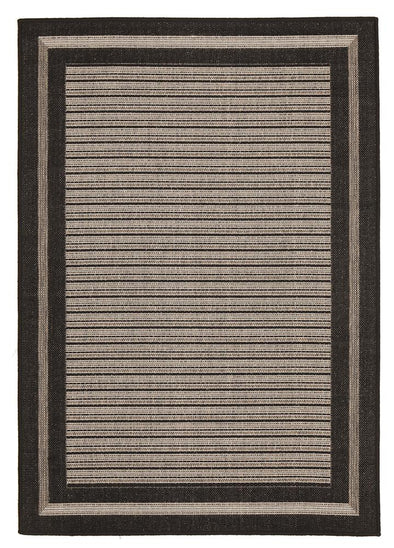 Starry Night Indoor Outdoor Modern Black Rug - Fantastic Rugs