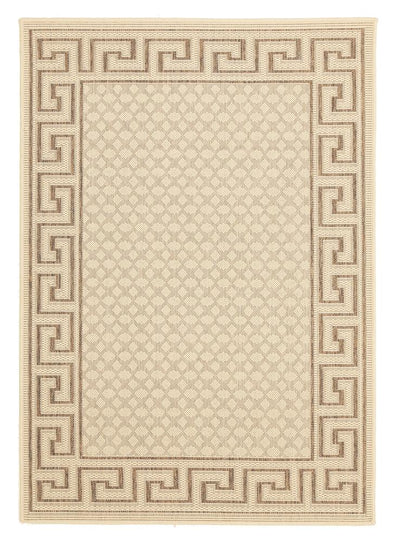 Evo 66 Indoor Outdoor Modern Beige Rug