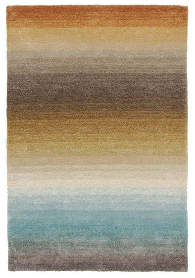 Como Multi Coloured Textured - Fantastic Rugs